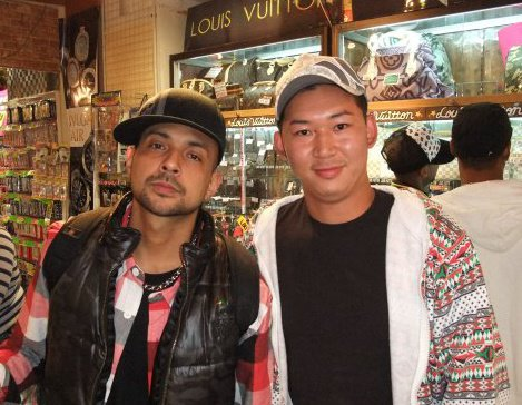 Sean Paul with Japan Royal Service