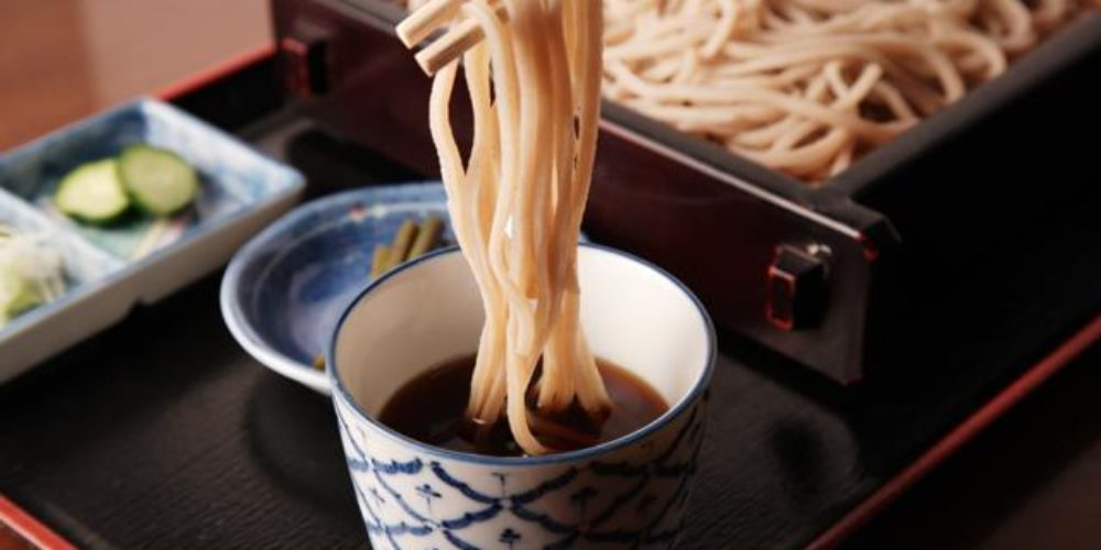 How to eat SOBA ?