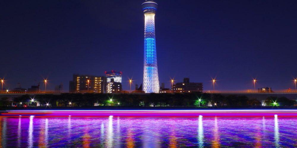 Tokyo Sky Tree Special Light up