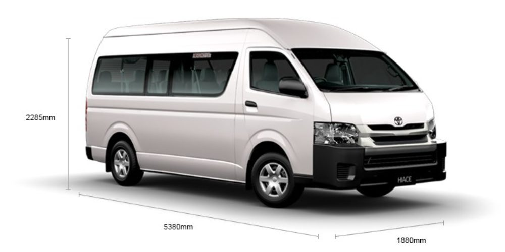 HIACE Commuter (13Seater+1)