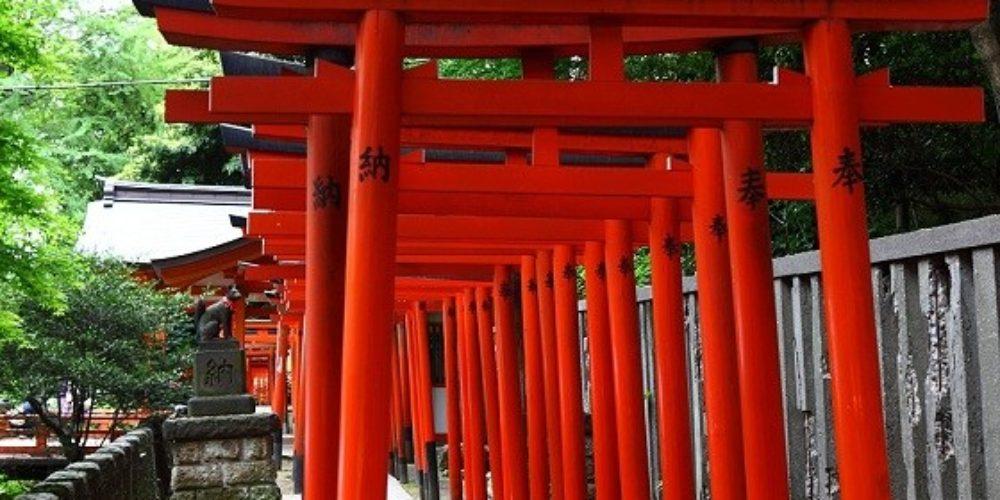 Nezu jinja Shinto shrine