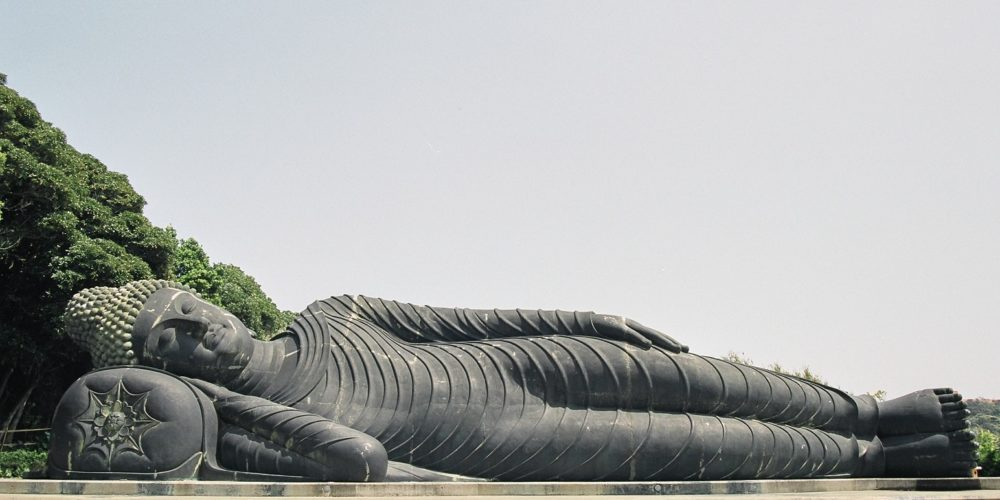 Mantokuji Temple  Nirvana Statue